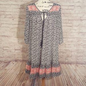 Tolani 100% Silk Dress/Tunic EUC Sz M/L